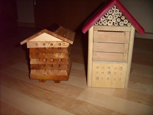 Neue Insektenhotels